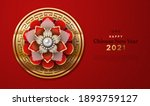 happy chinese new year 2021... | Shutterstock .eps vector #1893759127