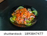 Spicy Salmon Salad As A...