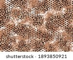 abstract oil painted animal...   Shutterstock . vector #1893850921