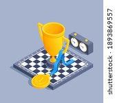 isometric vector illustration... | Shutterstock .eps vector #1893869557