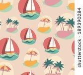 seamless background pattern... | Shutterstock .eps vector #189390284