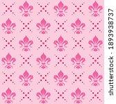 fleur de lis pattern vector... | Shutterstock .eps vector #1893938737