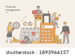 financial management banner.... | Shutterstock .eps vector #1893966157