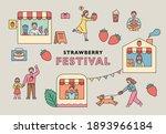 Strawberry Festival Poster....