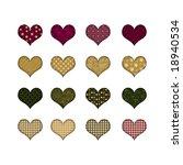 different hearts | Shutterstock . vector #18940534