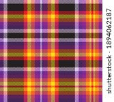colourful plaid seamless... | Shutterstock .eps vector #1894062187