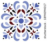 Tile Pattern  Decorative Damask ...