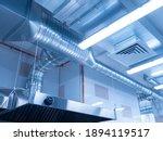 Ventilation System On Ceiling...