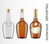 set of bottles of cognac ...   Shutterstock .eps vector #1894187461