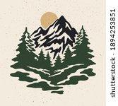 vintage illustration of... | Shutterstock .eps vector #1894253851