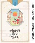 happy korean lunar new year... | Shutterstock .eps vector #1894290181