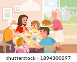 vector. portrait of family... | Shutterstock .eps vector #1894300297