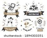 valentine label vector logo for ... | Shutterstock .eps vector #1894303351