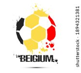abstract soccer ball with... | Shutterstock .eps vector #1894321381