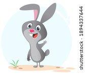cartoon bunny rabbit character. ...   Shutterstock .eps vector #1894337644