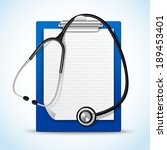 realistic medical health...   Shutterstock .eps vector #189453401