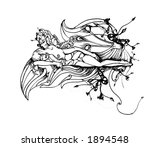 day dreaming fairy   vector | Shutterstock .eps vector #1894548