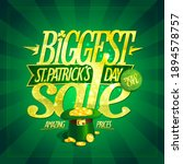 patrick's day biggest sale... | Shutterstock .eps vector #1894578757