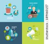 presidential election... | Shutterstock .eps vector #189460157