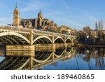 View Of City Of Salamanca  Spain