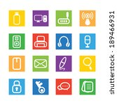 technology icons | Shutterstock .eps vector #189466931