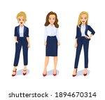 attractive young women in... | Shutterstock .eps vector #1894670314