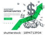 investment and finance growth... | Shutterstock .eps vector #1894713934