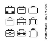 briefcase icon or logo isolated ... | Shutterstock .eps vector #1894759921