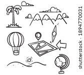 hand drawn doodle element... | Shutterstock .eps vector #1894770031