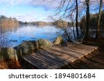 View Of A Bench Overlooking The ...