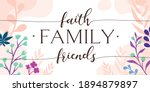 family home religious quotes... | Shutterstock .eps vector #1894879897