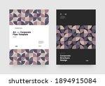 corporate vector layout...   Shutterstock .eps vector #1894915084