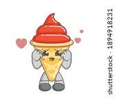 Cute Kawaii Ice Cream Cone...