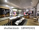 luxury and fashionable brand... | Shutterstock . vector #189492431