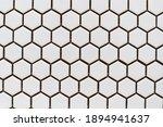 White Ceramic Tiles In The Form ...