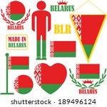 belarus. vector illustration.... | Shutterstock .eps vector #189496124