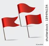 Flags. Vector Illustration.