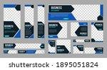 set of profesional business... | Shutterstock .eps vector #1895051824
