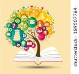 education concept vector... | Shutterstock .eps vector #189507764