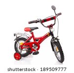 Red Bicycle For Children...