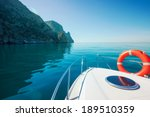 Private Boat Floats Near The...