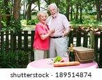 senior husband surprises his... | Shutterstock . vector #189514874
