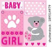cute teddy bear girl baby...