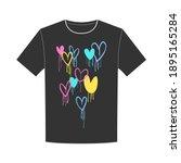 T Shirt Design Of Graffiti...