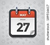 modern vector illustration of... | Shutterstock .eps vector #189516617