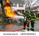 American Firefighters Use A...