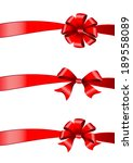 bows design | Shutterstock .eps vector #189558089