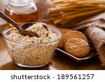 oatmeal cookie | Shutterstock . vector #189561257