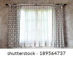 Curtain And Window  Vintage...