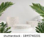 mockup display set with green...   Shutterstock . vector #1895740231